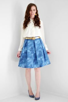 Make Your Own Spring Ready Skirt , Kate Spade Inspired Skirt