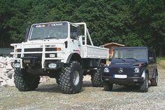 Unimog vs G-wagon