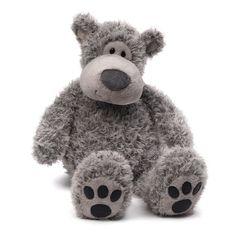 Gund Slouchers Gray Bear