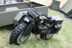 Maybe the world's only Amphibious 2WD Utility Motorcycle ;)
