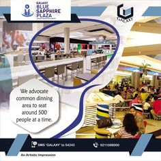 Our Food-court is strategically designed to attract maximum footfall & avoid chaotic situations.