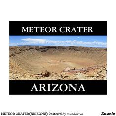 METEOR CRATER (ARIZONA) Postcard