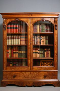 Victorian Bookcase - Antiques Atlas