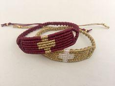 High Quality Bracelets and more by GiotaRammouJewelry Cross Jewelry, Macrame Jewelry, Macrame Bracelets, Bracelet Knots, Bracelet Crafts, Unique Friendship Bracelets, Greek Jewelry, Semi Precious Beads, Macrame Patterns