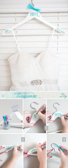 Planning a wedding on a budget and looking for fun diy wedding ideas? Here's a cute roundup of fun wedding ideas!