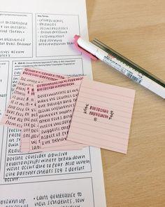 studysthetics:   13/jan - psychology revision... - Studyblr