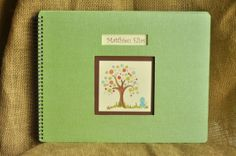 Beautiful customized baby book for LGBT, Adoptive, Single parent, or Straight families!  From loveleafbooks