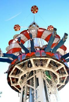RIDES RIDES RIDES in the heart of New Orleans! Carousel Gardens Amusement Park - http://www.neworleanscitypark.com/in-the-park/carousel-gardens