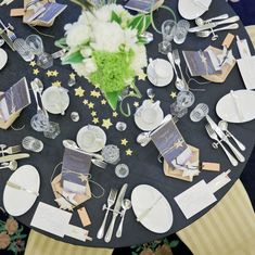 Star Wedding, Wedding Table, Table Settings, Marriage, Table Decorations, Stars, Design, Home Decor, Food