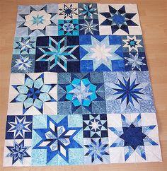 Winter-Stars | Die Sterne sind zusammen genäht. sticksuse.b… | Flickr