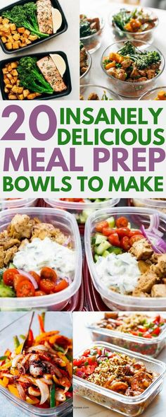 20 delicious dinner recipes to meal prep for the week