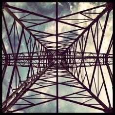 Inside a powerline