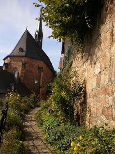 Marburg, Germany with Ford Madox Ford in The Good Soldier