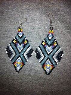 Handmade seed bead native american inspired by ButtloadOfKeepsakes