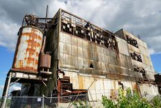 Soon-to-be-demolished appliance factory in Mansfield, Ohio.