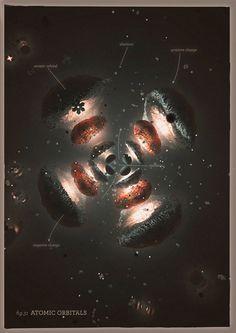"""Atomic Orbital Fig.31"" by Mrk"