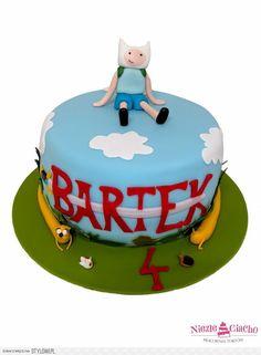 Figurka na torcie, tort urodzinowy, urodziny dziecka, t… na Stylowi.pl