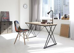 Awesome, cool and super Scandi style desk. Desks by 다니카가구