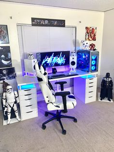 rate this setup 💞💞 – Game Room İdeas 2020 Computer Gaming Room, Computer Desk Setup, Gaming Rooms, Gamer Setup, Gaming Room Setup, Cool Gaming Setups, Pc Setup, Gaming Chair, Best Gaming Setup