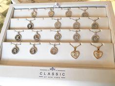 CLASSIC initial necklaces