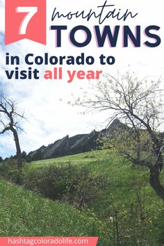 Top 7 Colorado mountain towns that are worth a visit anytime of year! #coloradotravel #visitcolorado #coloradomountains Colorado City, Visit Colorado, Colorado Winter, Colorado Mountains, Rocky Mountains, Front Range, Like A Local, Places To Visit, Explore