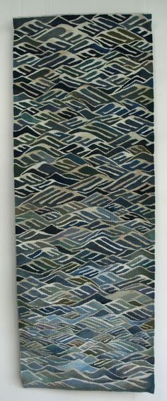 Wave After Wave - Louise Oppenheimer Tapestry