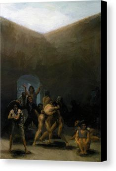 Francisco de Goya y Lucientes - Witches' Sabbath (The Great He-Goat) - Francisco Goya - Wikipedia, the free encyclopedia Spanish Painters, Spanish Artists, Art Database, Aragon, Old Master, Old Art, Hieronymus Bosch, Les Oeuvres, Art History