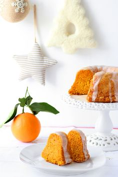 Pumpkin Bundt Cake with Lemon Glaze