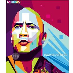 @therock in Wedha's Pop Art Potrait  Faceting : #coreldrawx5  Coloring : #illustrator  #wpap #wpapdesign #wpapart #wpapdesign #daily_art #drawing #art #artwork #digitalart #wpapdesign #vectors #vectorart #vectorillustration #bestvector #popart #poster #potrait #design #instaart #actor #hollywood #indonesia