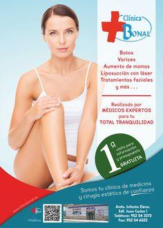 Clínica Bonal en Torre del Mar nos trae la contraportada de Revista Todo del 1 de Enero.