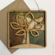 Tree of Life - Greeting Card/Wall Art by Shirley Lloyd-Davies, Dundee Designs Inc. Dundee, Customizable Gifts, Poly Bags, Kraft Envelopes, Note Cards, Greeting Cards, Wall Art, Design, Life