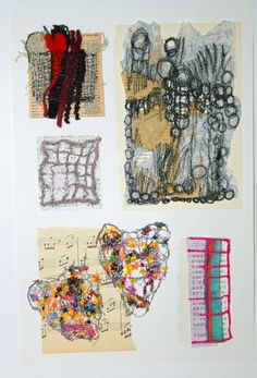 textile techniques with Marilyn Pipe - textile artists | Flickr - Photo Sharing!