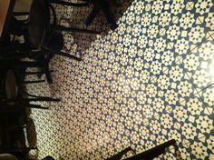 Honey & co Top Restaurants In London, Honey And Co, Garden Floor, Cafe Style, Floor Finishes, Sunroom, Animal Print Rug, Cravings, Bathrooms