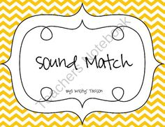 Sound Match from Kindergarten Kristy on TeachersNotebook.com -  (10 pages)  - Do you need a fun and engaging cut and paste activity to use in your classroom to help reinforce letter sounds? If so, then this is the activity for you and your students! This 10 page packet contains letter sound activities for your kindergarten or 1st g