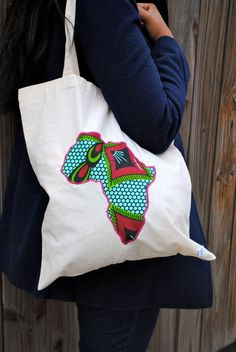 African canvas bag