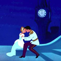 Cinderella : kiss : Disney movie