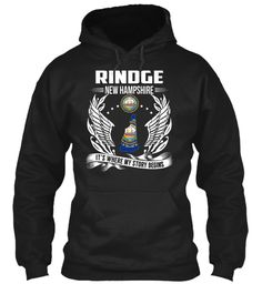 Rindge, New Hampshire - My Story Begins