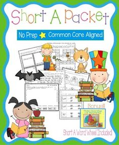Short A PacketThese worksheets, games, books, and activities will teach the short a sound.  All pages (except for the Go Fish Game) require no prep.  All are engaging for students and make learning to read and spell short a words fun.  Pages Included:*Short A Word Families (practice writing and reading words in the -at, -an, and -ap word families)*Cats and Hats - A short a story to illustrate, cut, and staple*Short A Game - Players move their pieces through a game board with short a…