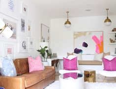 1000 Images About Pink In The Home On Pinterest Pink Rug Rugs And