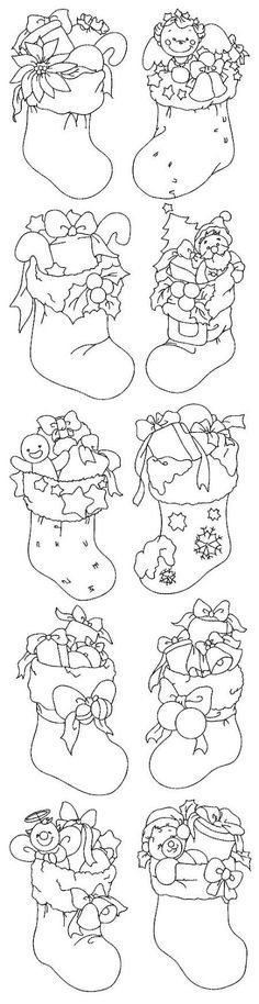 moldes gráficos motivos natalinos