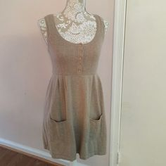 Esprit Dress Cute tan Esprit dress. Could also be worn as a tunic over some leggings. Size small. ESPRIT Dresses Midi