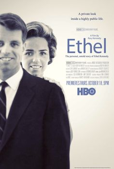 """Rory Kennedy's fascinating new film, """"Ethel"""" airs on HBO October 18th, at 9 p.m. hbo, films, ethel kennedi"""