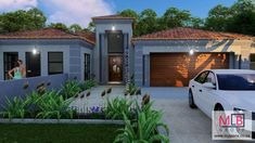 3 Bedroom House Plan - My Building Plans South Africa 5 Bedroom House Plans, My House Plans, My Building, Building Plans, Double Garage, South Africa, Beautiful Homes, Shed, Lounge