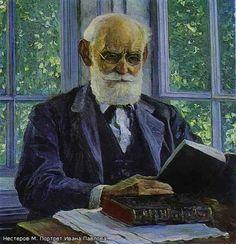 Нестеров Михаил Васильевич 1862-1942. Портрет Ивана Павлова. 1930