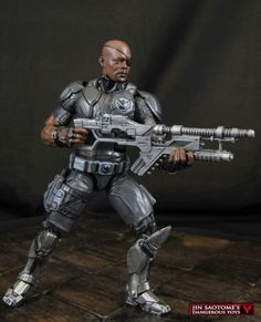 Director Nick Fury (Marvel Legends) Custom Action Figure