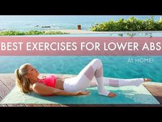 INTENSE Lower Abs Workout - BEST MOVES FOR A FLAT BELLY at Home| Rebecca Louise - YouTube