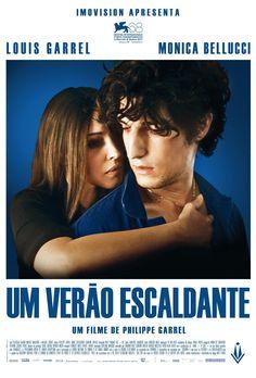 """""""Um Verão Escaldante"""", novo filme de Philippe Garrel, estrelado por Louis Garrel e Monica Bellucci. #promete"""