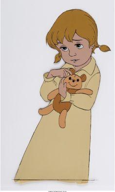 The Rescuers Penny Production Cel (Walt Disney, 1977)