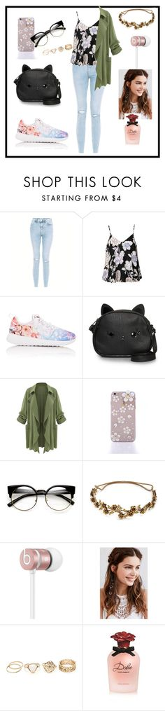 """""""Spring sprang"""" by nikkinyb ❤ liked on Polyvore featuring Ally Fashion, NIKE, Loungefly, Jennifer Behr, Beats by Dr. Dre, REGALROSE and Dolce&Gabbana"""
