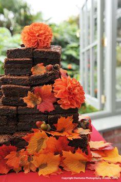 Brownie Mountain Wedding Cake